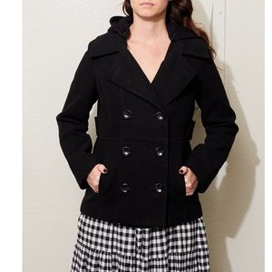 Style and co Pea coat size small petite